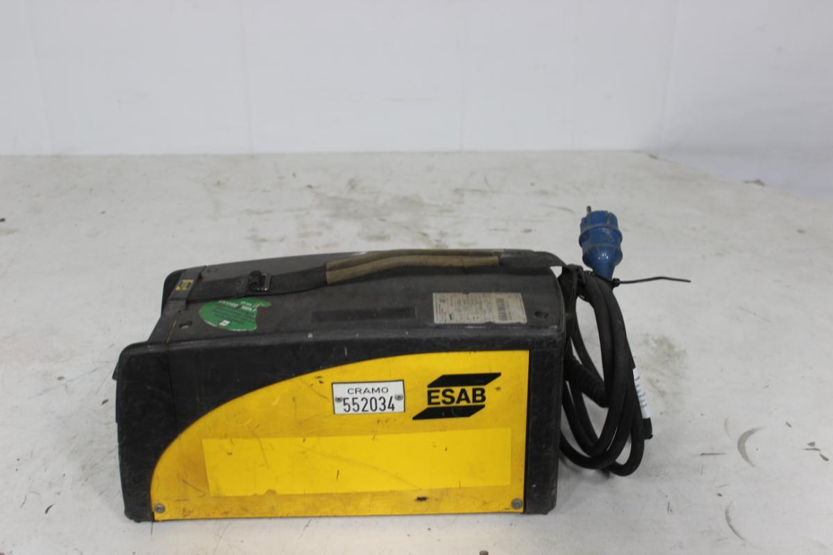 ESAB Arc 151i elektrodemaskin - Sem - Starter og går Har vært benyttet i utleie via CRAMO Kan besiktiges hos Auksjonen.no - Sem