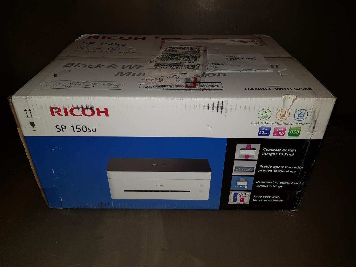 Ricoh SP150 Printer - Sem - Ny printer i eske selges. - Sem