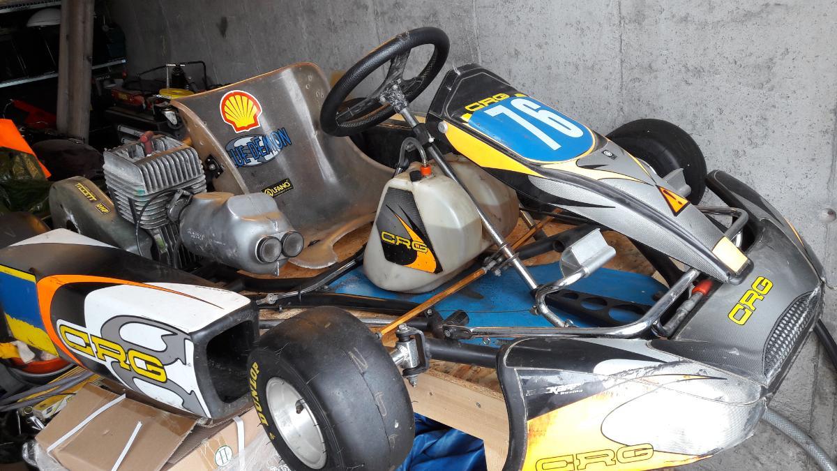 2001 CRG Blue Demon Gokart Yamaha 100 - Lyngdal - Følger med noen deler som drev og en del motor deler. Nye hjul Ny bakfanger Har vognlisens hos Norges Bilsportforbund. - Lyngdal