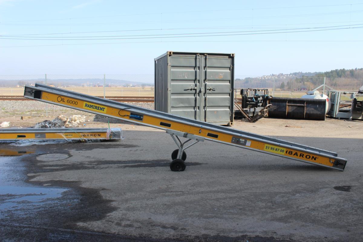 Baron CXL6000 - Transportbånd - Sem - Baron CXL6000 - Transportbånd. Funksjonstestet uten noe på bånd, fungerer som det skal. Selges som det står. - Sem