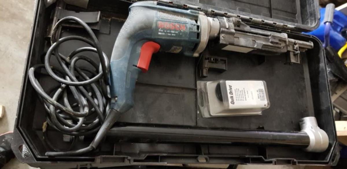 BOSCH SKRUAUTOMAT QUICK DRIVE - QD76 - Porsgrunn - Selger 1 stk Bosch Skruautomat Quick Drive. Maskin på ledning. - Porsgrunn