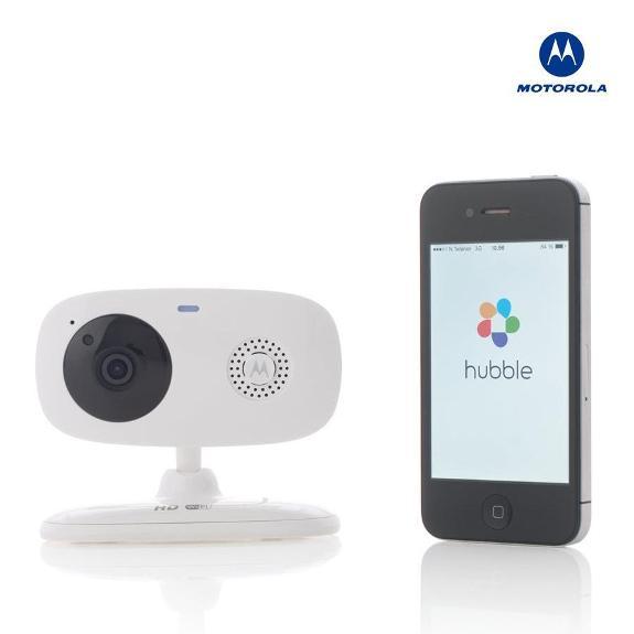 Motorola Focus 66 Wi-Fi HD Home Monitoring Camera - Stord - Motorola Focus 66 Wi-Fi HD Home Monitoring Camera Trådløst overvåkningskamera med HD video og temperaturmåler fra Motorola til iPhone og Android - liten investering, meget god sikkerhet! Enkel installasjon: 1. Pakk ut og koble til strøm 2. La - Stord