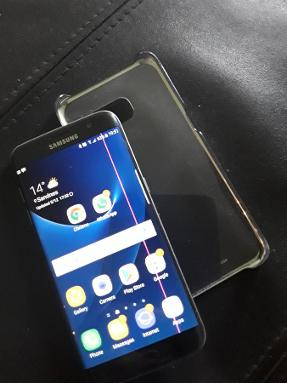 Samsung S7 - Sandnes - Has a little stretch in the screen - Sandnes