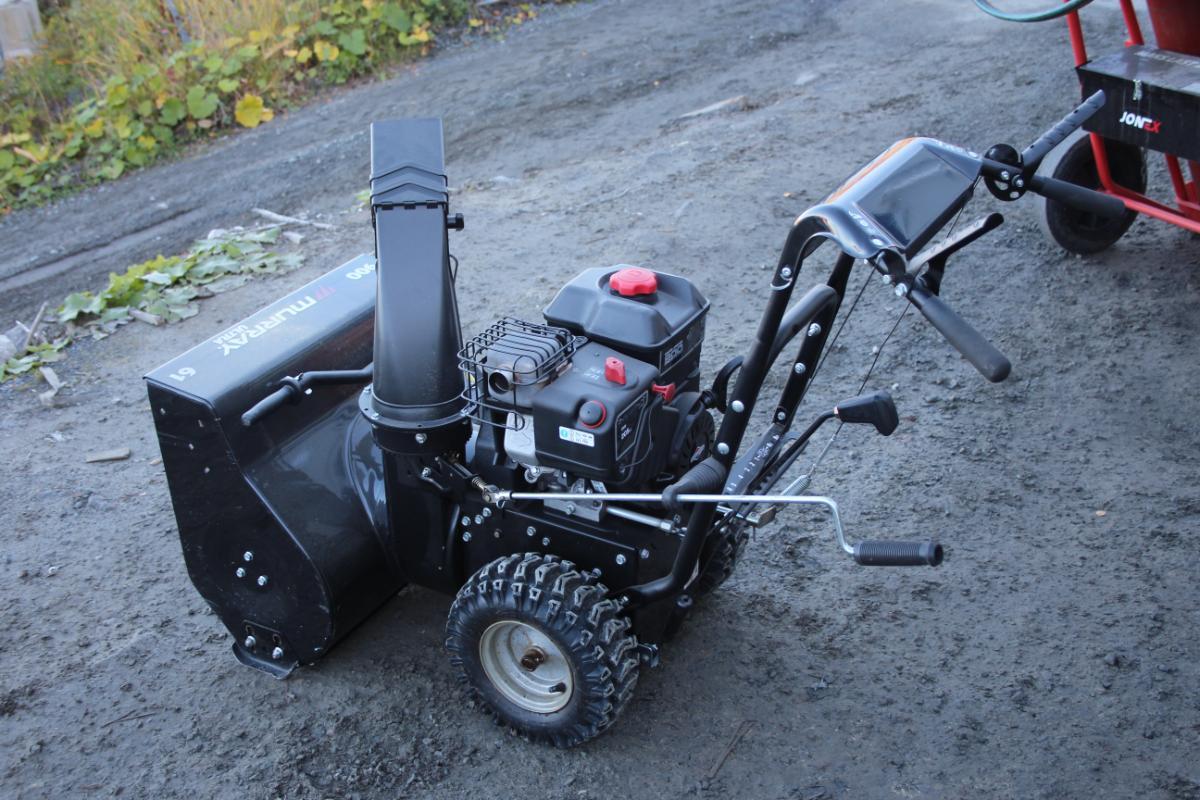 Murray Ultra 900 Snøfreser,lite brukt - Narvik - Nesten ikke brukt snøfreser selges som forevist på bilder Briggs&Stratton motor - Narvik